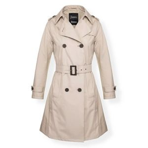 HERNO Belted Beige Trench Coat